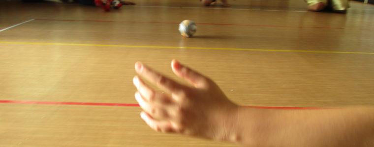 ゴールボール(感覚遊び)